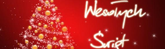 Wesołych Świąt oraz szczęśliwego Nowego Roku 2014