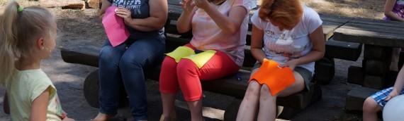 III Piknik Rodzinny dla rodzin dzieci z niepełnosprawnością objętych na terenie naszej placówki, w roku szkolnym 2015/2016, Wczesnym Wspomaganiem Rozwoju Dziecka.